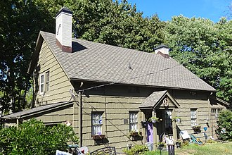 National Register of Historic Places listings in Middlesex County, New Jersey - Image: Ayers Allen House, Metuchen, NJ