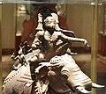 Ayyanar on elephant, 16th century bronze, Government Museum, Chennai (1) (37421897802).jpg