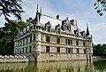 Azay-le-Rideaux Château d'Azay-le-Rideau Südseite 6.jpg