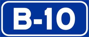 B-10 motorway (Spain) - Image: B 10Spain 2