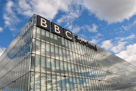 Glasgow is home to the HQ of BBC Scotland in Pacific Quay BBC Scotland 2.JPG
