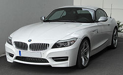 BMW Z4 II sDrive35is M Sportpaket front 20100515.jpg