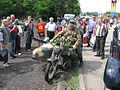BMW motorcycle armed with a MG 42 during the VII Aircraft Picnic in Kraków.jpg