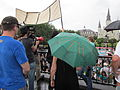 BP Oil Flood Protest NOLA Truth Now umbrella.JPG