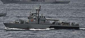 Tomas Batillo-class patrol craft - Image: BRP Salvador Abcede (PG 114) 20120708