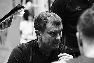 Luka Pavićević Serbian basketball player and coach