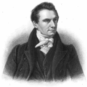 "Charles Babbage, sometimes referred to as the ""father of computing"". Babbage40.png"