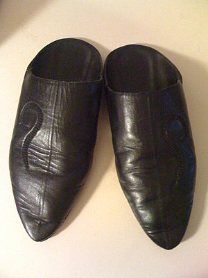 Balgha - A pair of black balghas.