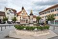 Bad Rodach, Markt, Brunnen 20170729 001.jpg