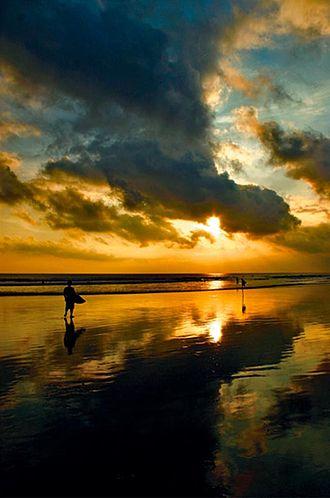 Tourism in Indonesia - Jimbaran Beach, Bali