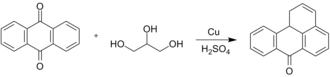 Anthraquinone - Bally–Scholl synthesis