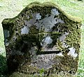 Ballyhennan Cemetery, tomb with symbols of blacksmith's work. Tarbet, Argyll & Bute.jpg