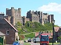 Bamburgh village and Castle. - geograph.org.uk - 384305.jpg