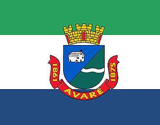 Avaré, São Paulo - Image: Bandeira Avaré