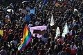 Bandeira LGBT no 15 de maio.jpg