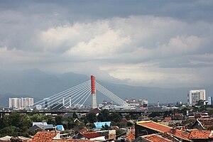 Pasupati Bridge - Panorama showing the Pasupati Overpass