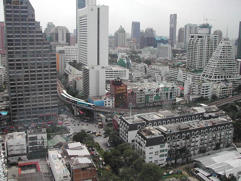 Du Centre Ville De Bangkok A Aeroport Don Muang