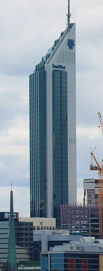 108 St Georges Terrace - Image: Bank West Tower
