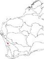 Banksia trifontinalis map.png