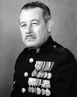 Bankson T. Holcomb Jr. - Holcomb as Brigadier general, USMC