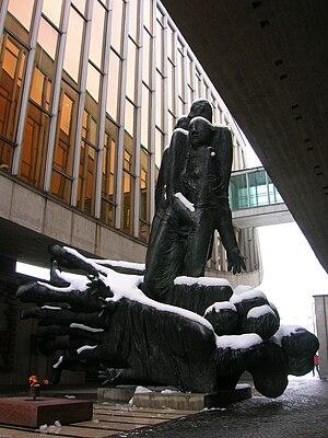 Slovak National Uprising - Memorial of the Slovak National Uprising in Banská Bystrica