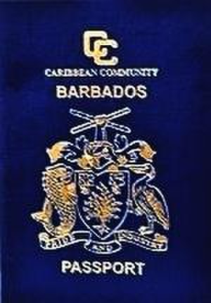CARICOM passport - Image: Barbadian Passport Cover