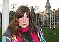 Barbara Grace Tucker in Parliament Square London (cropped).jpg