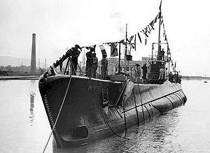 BETASOM - Italian submarine ''Barbarigo''
