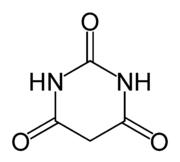 Barbituric acid, the basic structure of all barbiturates