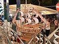 Barca realizzata con fiammiferi USATI - panoramio.jpg