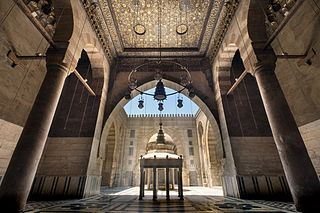 Mosque-Madrassa of Sultan Barquq mosque in Egypt