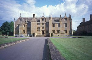 Barrington Court - The north front of Barrington Court