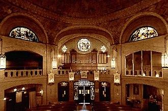 Basilica of St. Lawrence, Asheville - Image: Basilica of St. Lawrence Asheville NC Rear