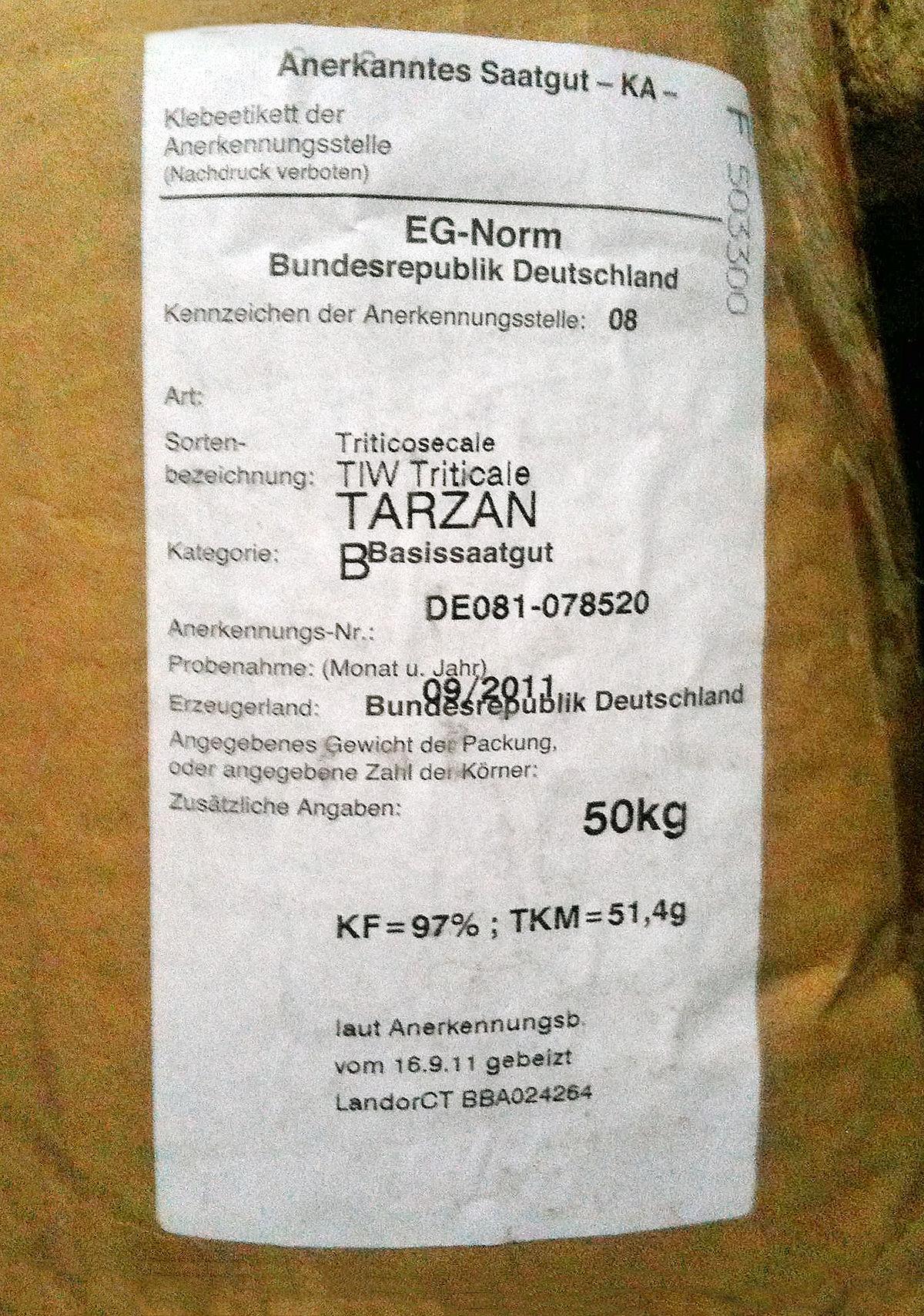 Saatgutverkehrsgesetz