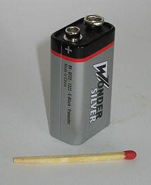 48 Volt Battery >> Батарея «Крона» — Википедия