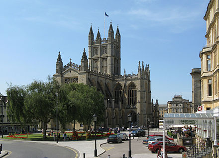 Bath Abbey seen from the east Bath abbey from the east arp.jpg