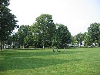 Lexington Battle Green - Image: Battle Green, Lexington (Dudesleeper)