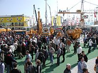 Bauma exhibition 2004 outdoor 02.jpg