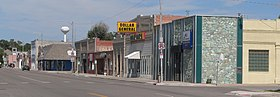 Bayard, Nebraska, E side of Main St N of 3rd St.jpg