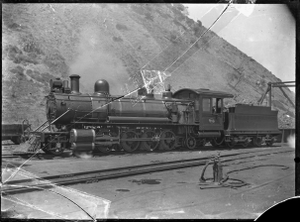 Bc class steam locomotive, New Zealand Railways number 463 (2-8-2). ATLIB 276308.png