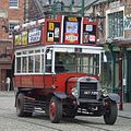 Beamish Museum B-Type replica bus B1349 (DET 720D), 26 May 2007.jpg