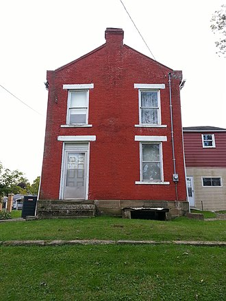 National Register of Historic Places listings in Wirt County, West Virginia - Image: Beauchamp Newman House 2012 09 29 18 03 43