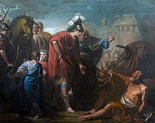 Beaux-Arts de Carcassonne - Alexandre et Diogène - Jacques Gamelin