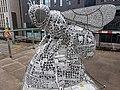 Bee sculputre (43069466925).jpg