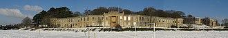 Beechen Cliff School - Image: Beechen Cliff School, from snowy school field
