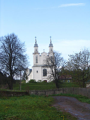 Kreva - Church of St. Mary