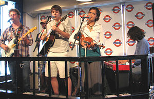 The Belleville Outfit - The Belleville Outfit perform in Waterloo Records, Austin, TX, May 27, 2009