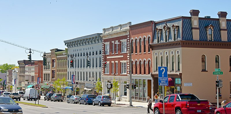 File:Bemis Block and other buildings on South Main Street, Canandaigua, NY.jpg