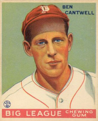 Ben Cantwell - Image: Ben Cantwell Goudeycard