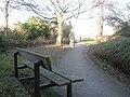 Bench seats in Boys Brigade Gardens - geograph.org.uk - 636528.jpg